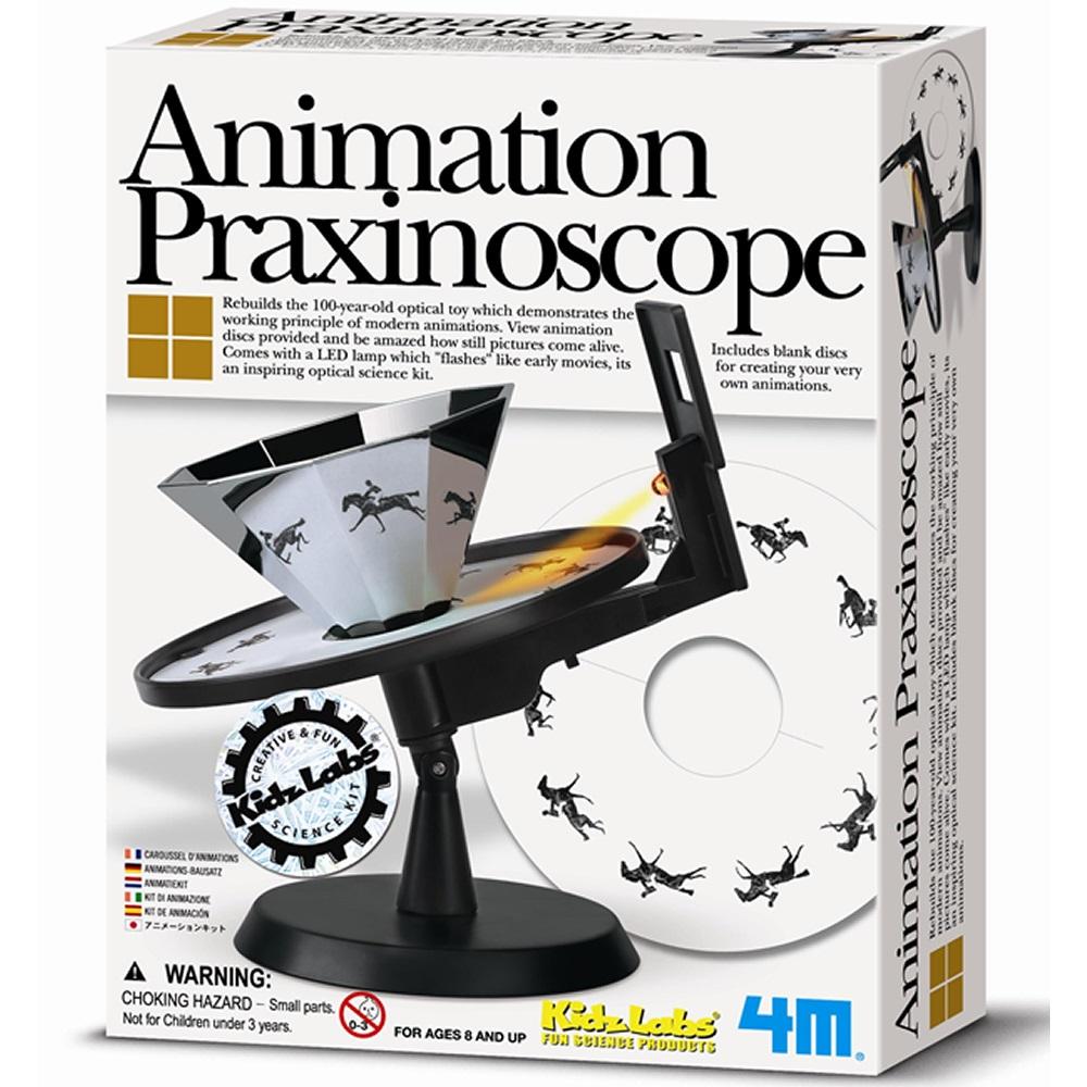 《4M科學探索》Animation Praxinoscope 動畫世界