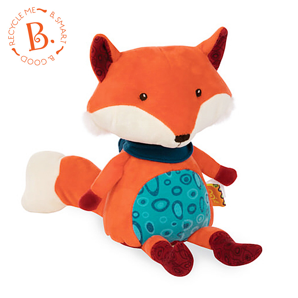 美國 【B.Toys】 狐狸說什麼(迴聲娃娃)