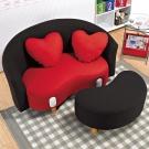 沙發 兩人座 妮娜造型兩人座小沙發 AS