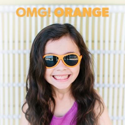 美國BABIATORS 嬰幼兒墨鏡 -耀眼橘