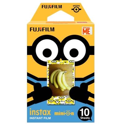 [3盒裝]FUJIFILM instax mini 拍立得底片(小小兵-吊帶褲)