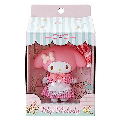 Sanrio 美樂蒂可換裝可動玩偶吊鍊