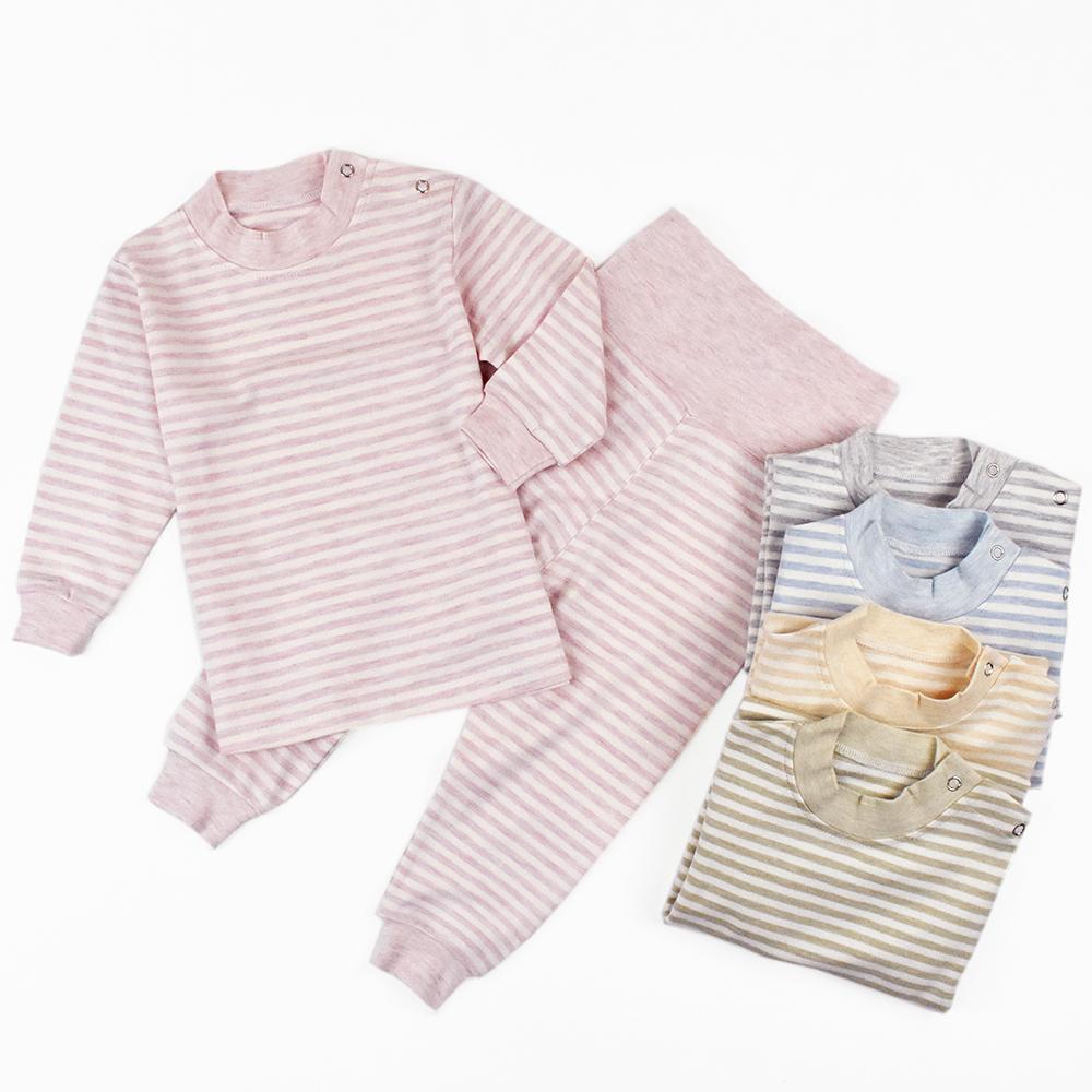 嬰幼兒 高腰護肚褲+上衣套裝組