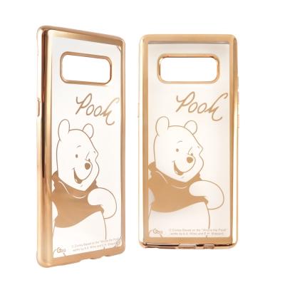 Disney迪士尼 三星Galaxy Note8時尚質感電鍍保護套-人物系列 小...