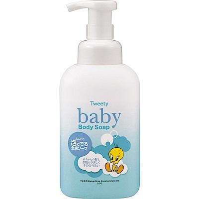 熊野油脂 嬰兒全身沐浴乳(500ml)