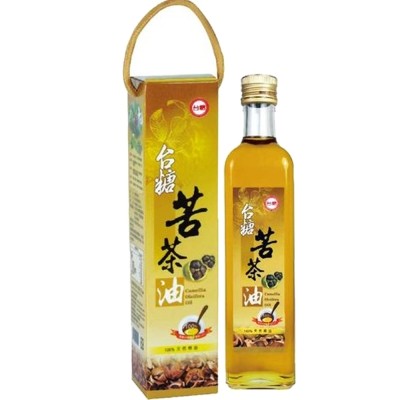 台糖 苦茶油 2 瓶( 500 ml/瓶)