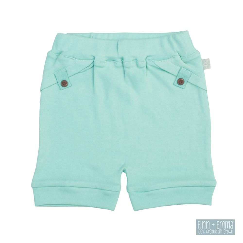 美國 FINN & EMMA 有機棉有機棉短褲 (維京藍)