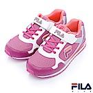 FILA KIDS 大童EVA經典慢跑鞋-紫桃3-J418R-941