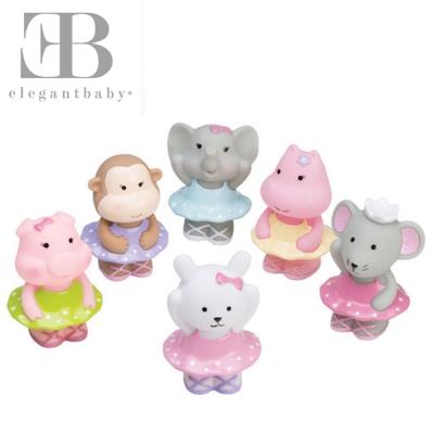 Elegant Baby 洗澡玩具6入組-芭蕾派對
