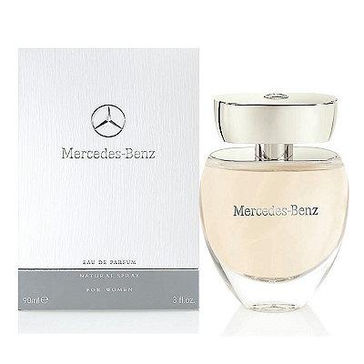Mercedes Benz 白色浪漫淡香精 90ml 外盒壓傷