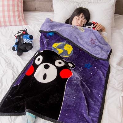 KumamoKUMA星球 頂級加厚法蘭絨休閒毯