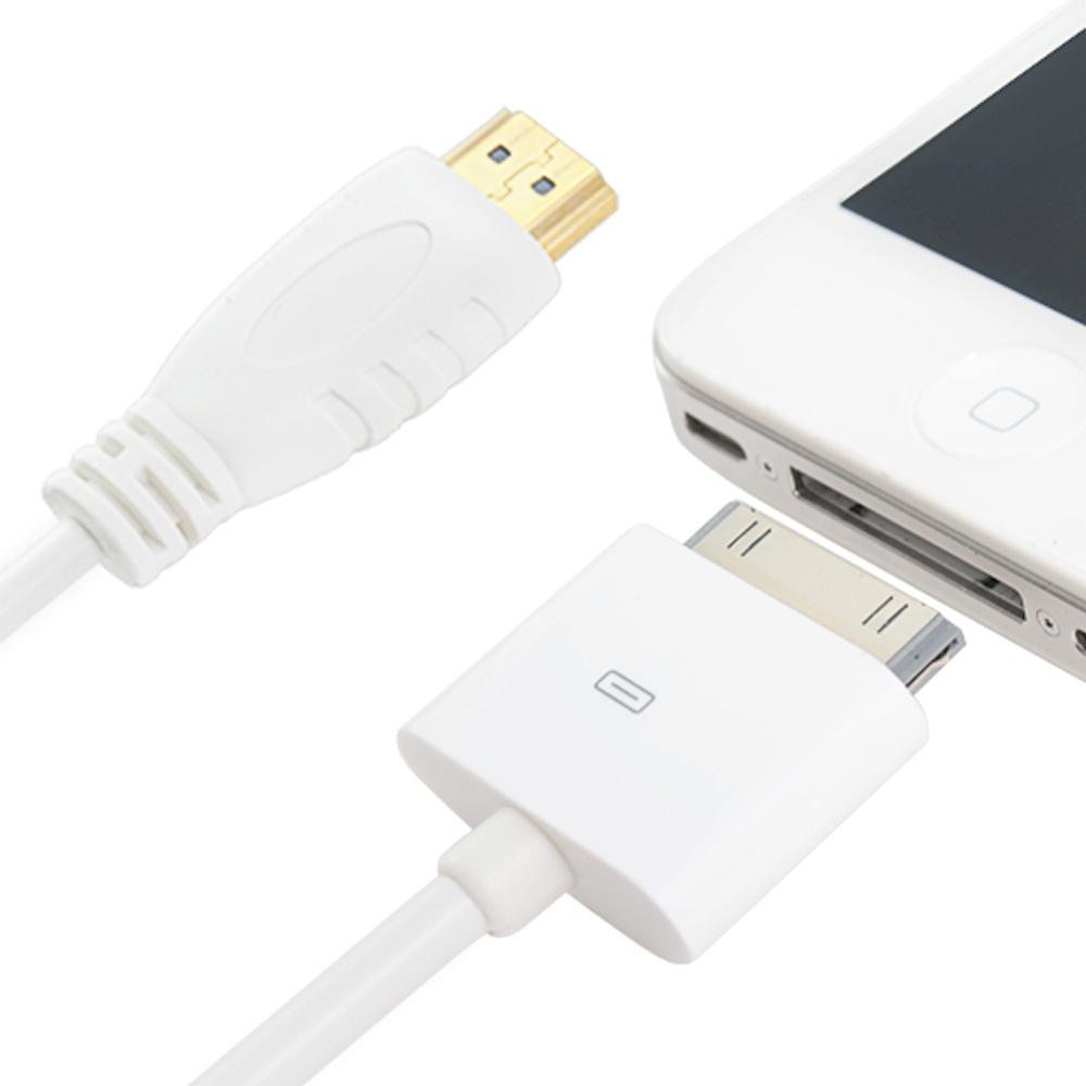 Kamera apple 30pin Digital AV HDMI 連接線(1.8米)