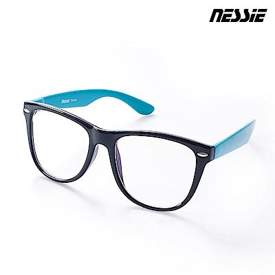 Nessie尼斯眼鏡 濾藍光眼鏡 炫潮系 黑藍