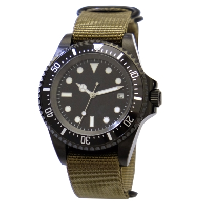 PARNIS 經典水鬼自動機械錶 PA3104 夜光 42mm