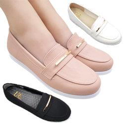 簡約金屬飾包鞋