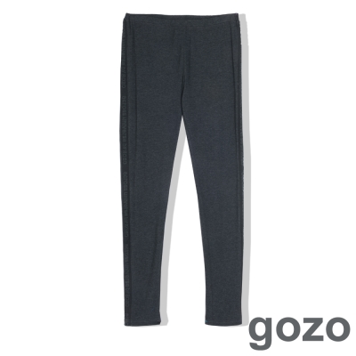 gozo-英文字母造型修飾內搭褲-二色