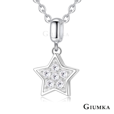 GIUMKA 925純銀項鍊 小星星 純銀女鍊