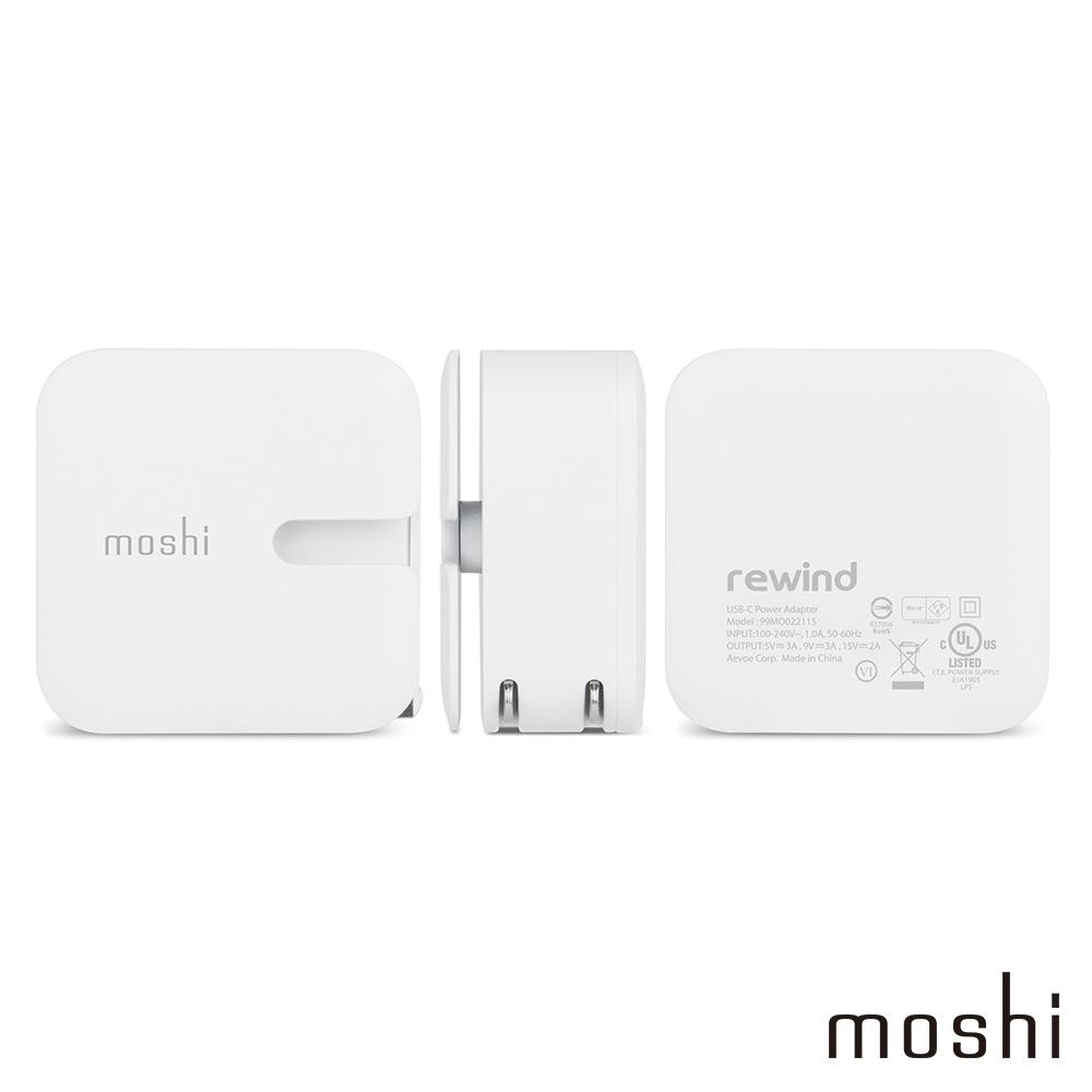 Moshi Rewind C 高效能USB-C充電器