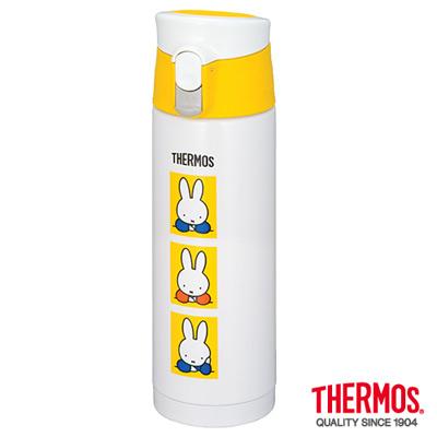 THERMOS-膳魔師不銹鋼真空保溫杯0-5L-JMX-500B-WH