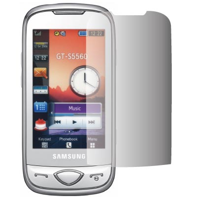 ZIYA Samsung GT-S5560 抗刮亮面螢幕保護貼 - 2入