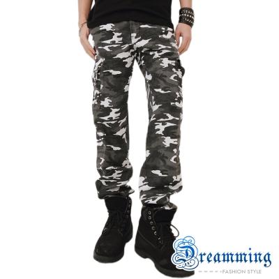 Dreamming BIGBANG天團穿搭迷彩休閒褲