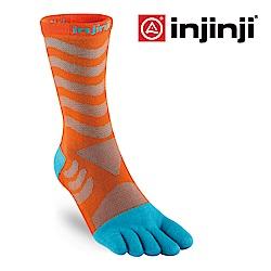 【INJINJI】Ultra Run 終極系列女款五趾中筒襪 [二色可選]