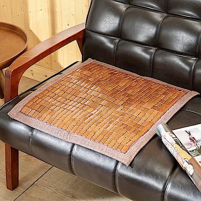 BuyJM 專利棉繩3D包邊炭化麻將單人坐墊(長50x寬50公分)