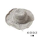 東京著衣-KODZ 菲菲聯名質感渡假風編織帽(共二色)