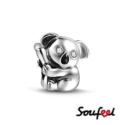 SOUFEEL索菲爾 925純銀珠飾 無尾熊 串珠