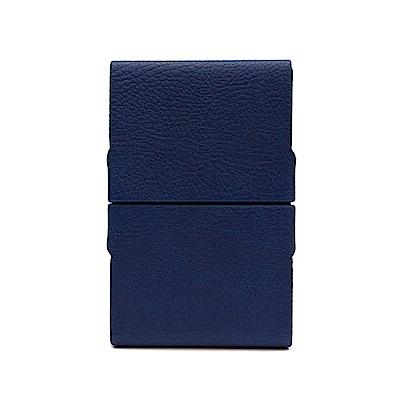 FEDON 1919 Charme迷幻皮面雙開名片盒-藍