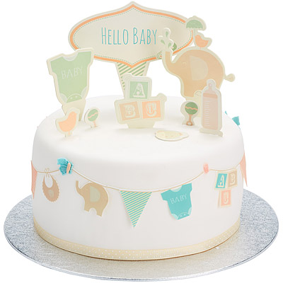 Sweetly 蛋糕裝飾插牌(新生寶寶)