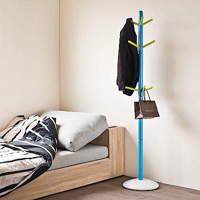 TZUMii 藍色小精靈衣帽架-34.3*34.3*172.7cm