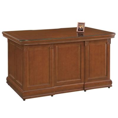 時尚屋 賽德克正樟實木6尺書桌 寬175cm