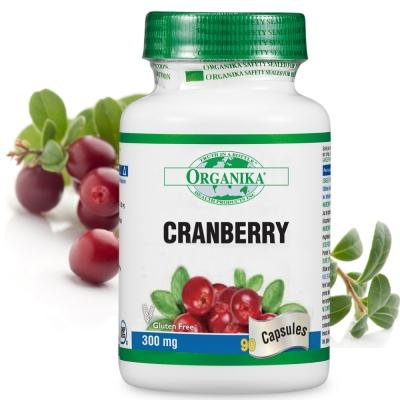Organika優格康-蔓越莓濃縮膠囊(90顆)