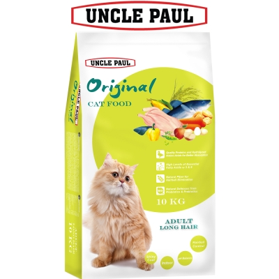 UNCLE PAUL 保羅叔叔田園生機貓食 10kg 成貓 長毛貓