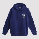 Hang Ten - 男裝 - 英文貼布字刷毛帽T