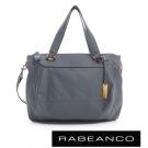 RABEANCO 時尚粉領系列菱形包(中) - 墨水藍