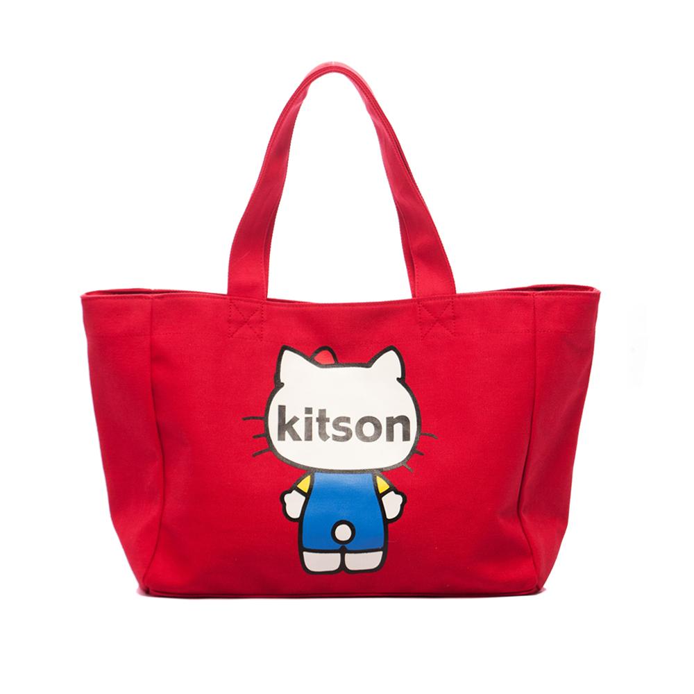 kitson x Ribbon Hello Kitty M Tote (紅色)