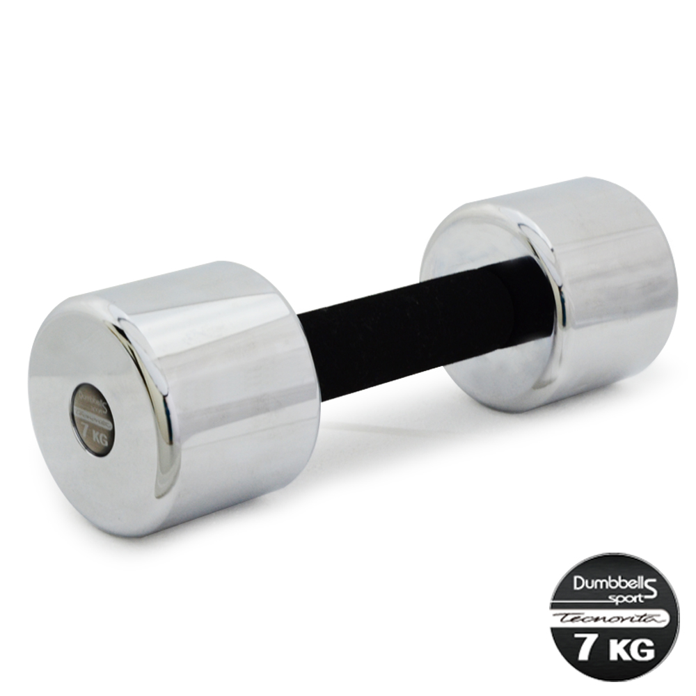 【BLADEZ】7KG電鍍泡棉啞鈴-1支