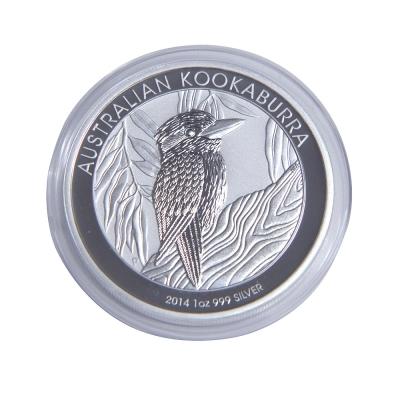澳洲笑鴗鳥 2014 年銀幣- 1 盎司
