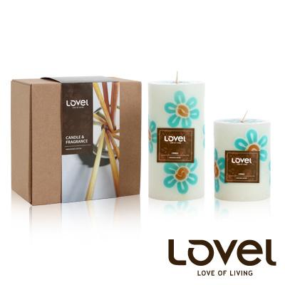 【LOVEL】香氛手工蠟燭組(花朵系列-南洋)