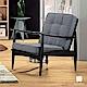 漢妮Hampton布里安休閒沙發單人椅 product thumbnail 1