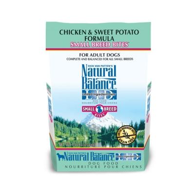 Natural Balance 低敏無穀 地瓜雞肉  全犬 乾糧(小顆粒)4.<b>5</b>磅 x <b>1</b>