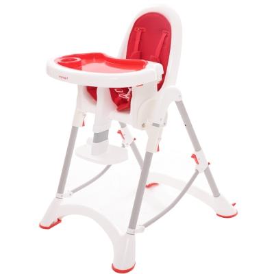 myheart 折疊式兒童安全餐椅 - 蘋果紅