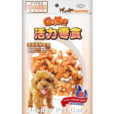 GooToe活力零食-雞肉打結骨2-5吋-16入