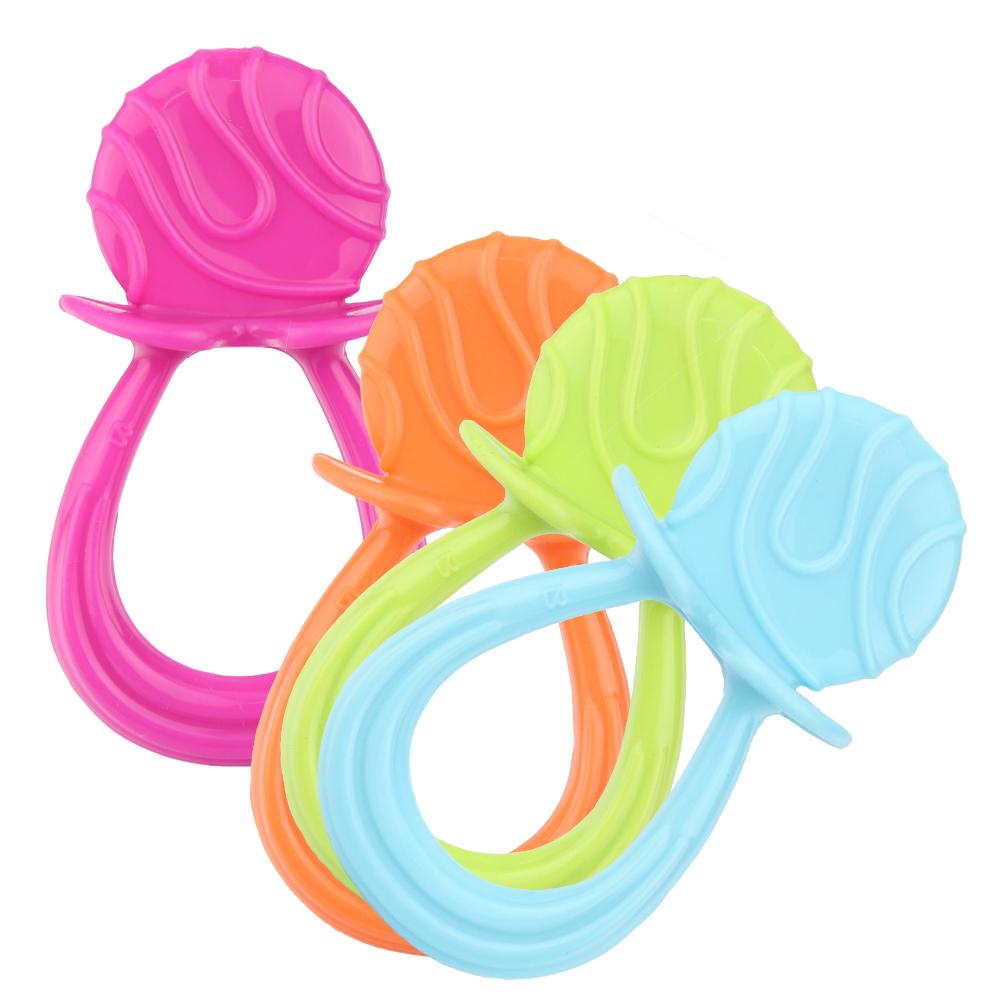 【貝喜力克】嬰兒固齒玩具(戒指型)-2入