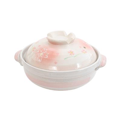 日式櫻花砂鍋/陶鍋2.8L