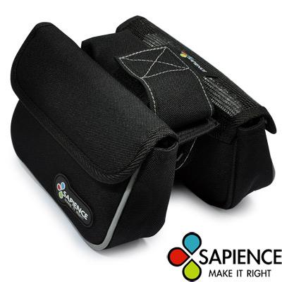 【SAPIENCE】萬用上管雙層馬鞍袋-附手機袋