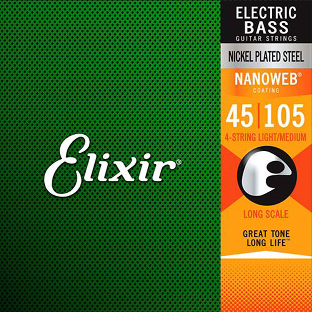 ELIXIR EXXB-14077 貝斯四弦套弦
