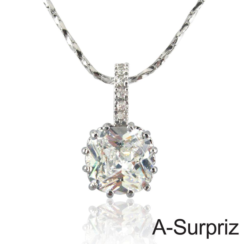 A-Surpriz 典藏戀曲鋯石項鍊